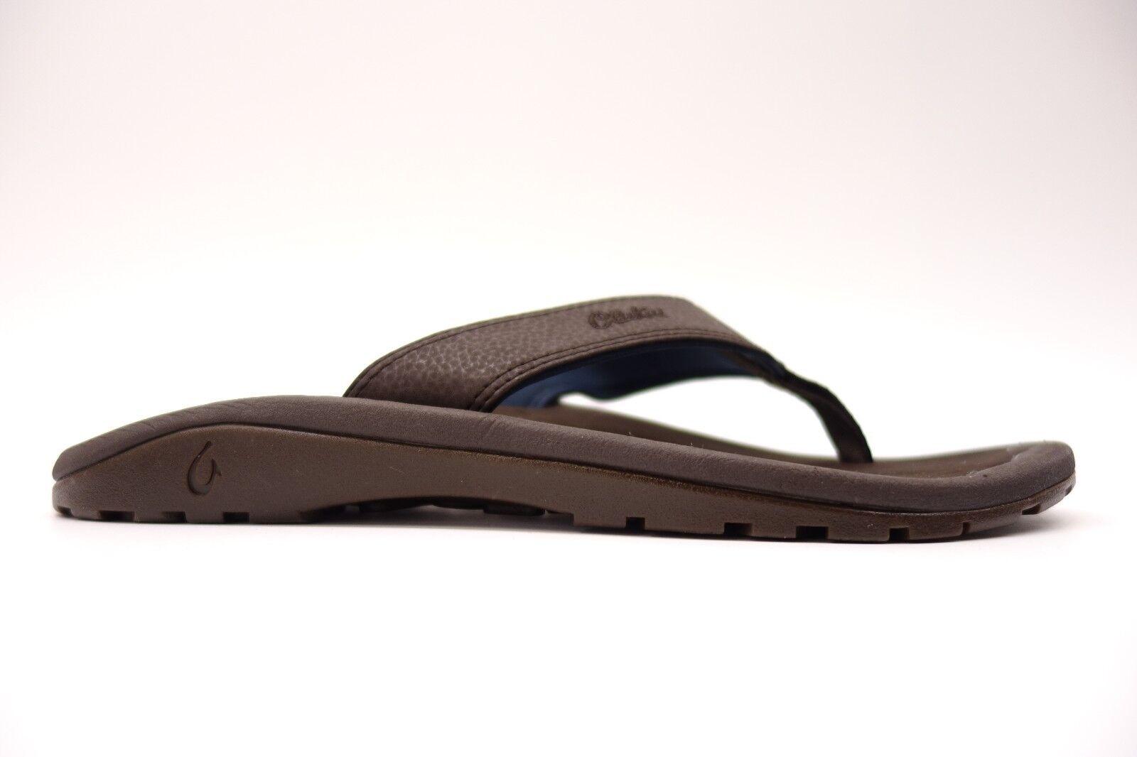 OluKai Shoes Mens Ohana Casual Comfort Slip On Cushioned Slipper Shoes OluKai Size 10 2b03fc