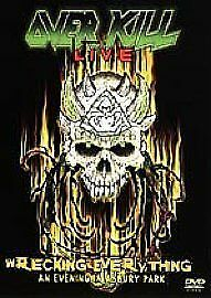 Overkill ‎– Live Wrecking Everything: An Evening In Asbury Park [2 DVD SET] NEW