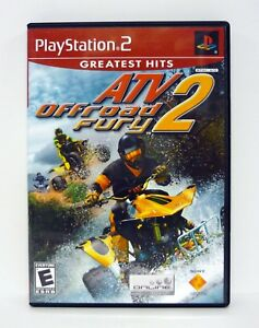 atv offroad fury 2 playstation 2 ps2 game greatest hits complete w rh ebay com ps2 games manual pdf Sony PlayStation 2