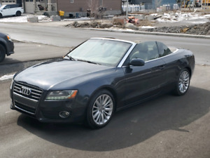 AUDI A5 CONVERTIBLE AUTOMATIC AWD CERTIFIED ONLY 80KM