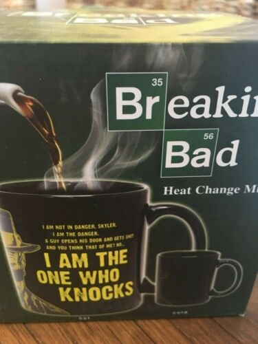 50 Fifty Licenced Breaking Bad Better Call Saul Heat Change Mugs Heisenberg NEW