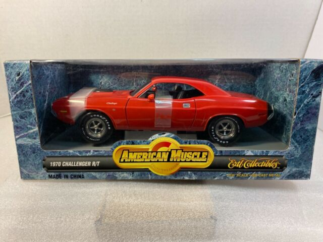 Ertl 1/18 American Muscle '70 Dodge 426 HEMI Challenger R/T Red NEW IN BOX