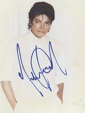 Michael Jackson Signed PP Autograph Print Hologram & Certificate Janet Jackson 5