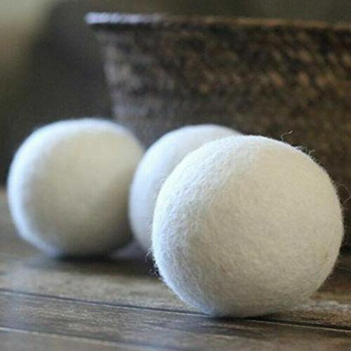Eco-Friendly tout-naturel F S230 8-Pack 100/% Premium laine sèche-linge balles XL handmade