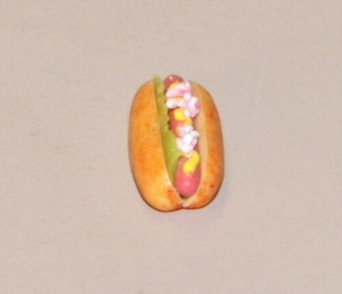 Hot Dog Loaded Bright Delights Dollhouse Miniatures