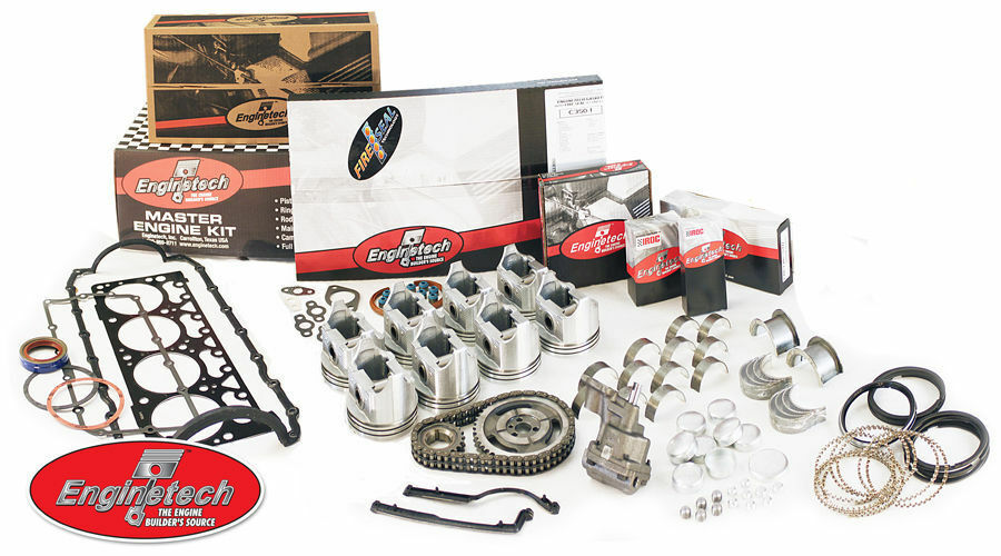 Enginetech Engine Rebuild Re-Rering Re-Main Kit for 65 66 67 68 Ford 289 4.7L V8