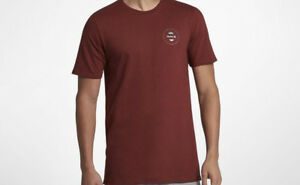 Image is loading HURLEY-Never-Paradise-Tee-L-Pueblo-Brown c5f4459fcbb