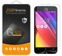 3x Supershieldz Asus Zenfone 2 (5.5-inch) Tempered Glass Screen Protector