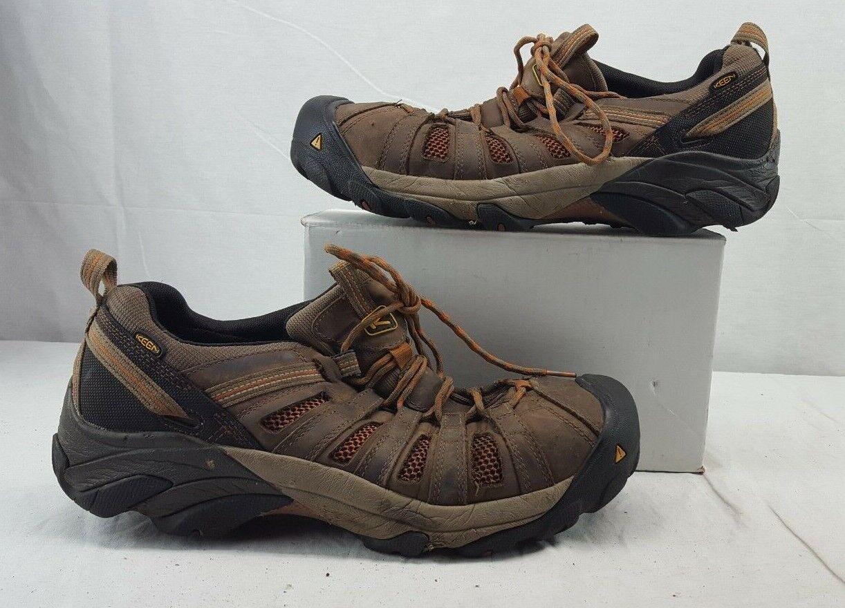 KEEN Utility 1007970 Men's Flint Low Steel Toe EH WP Work shoes 13EE