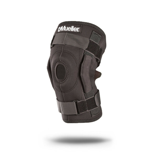 e01e29892f Mueller Sports 3333 Wraparound Hinged Knee Brace Support ...