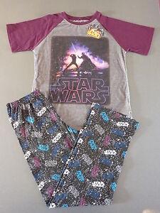 STAR WARS Jungen Schlafanzug Pyjama Set T-Shirt + Hose Darth Vader 152 Primark