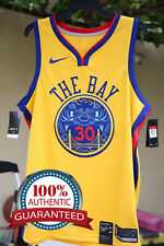 bce3ee910 Nike Stephen Curry  30 Golden State Warriors City Edition Swingman Jersey  2xl