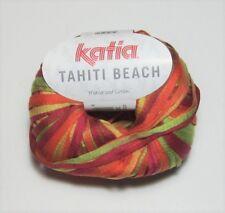 Knitting Yarn ~ Katia Tahiti ~ Cotton tape yarn assorted shades 50g balls