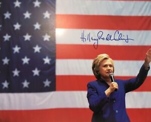 Hillary-Clinton-8x10-Signed-Photo-Autographed-REPRINT