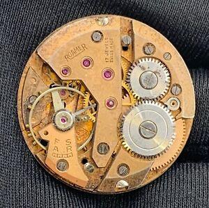Roamer-Cal-MST-402-Main-Manuel-Vintage-30-3-mm-Pas-Fonctionne-pour-Pieces