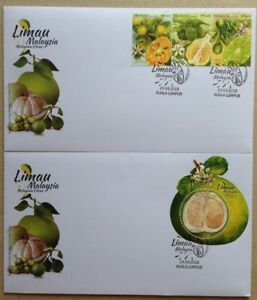 Malaysia FDC with Miniature Sheet & Stamps (24.04.2018) - Malaysian Citrus
