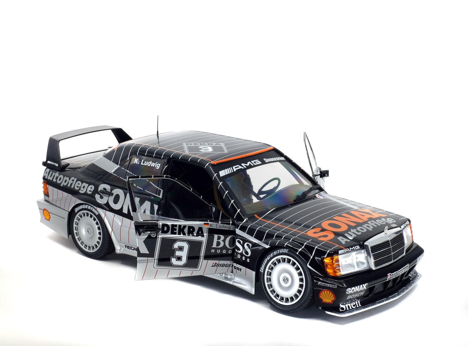 Mercedes W201 190E 2.5-16 Evo 2 DTM Sonax Modelauto 1002 Solido 1 18