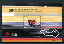 Macau Macao 2016 MNH Motorcycle Grand Prix 50th 1v M/S Motorcycles Stamps