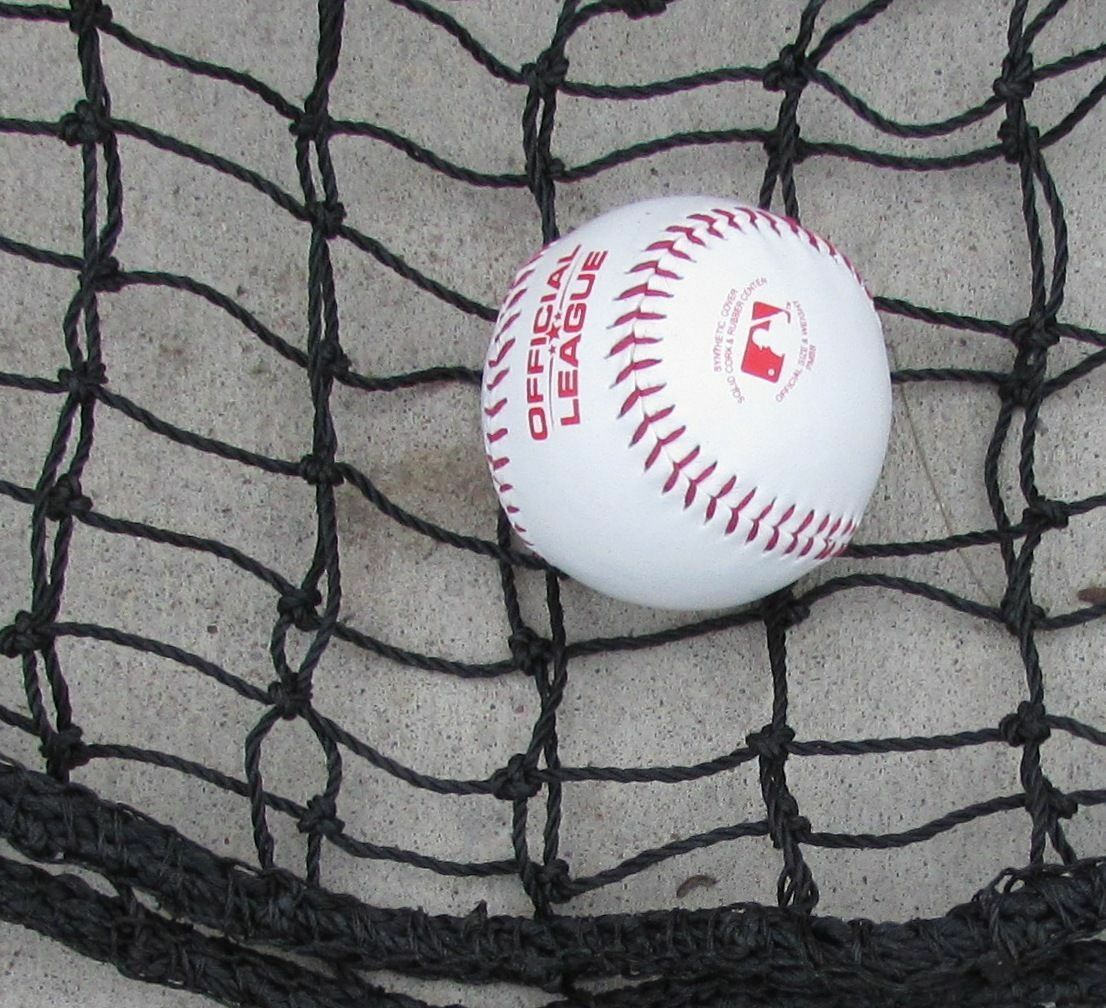 L-Screen 6' x 7' 60ply Replacement Net Batting Baseball Net Pitching L Screen Net Baseball 26260b