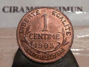 CIRA-74-58-1-CENTIME-DUPUIS-1903-RARE-QUALITE-SUP-SPL
