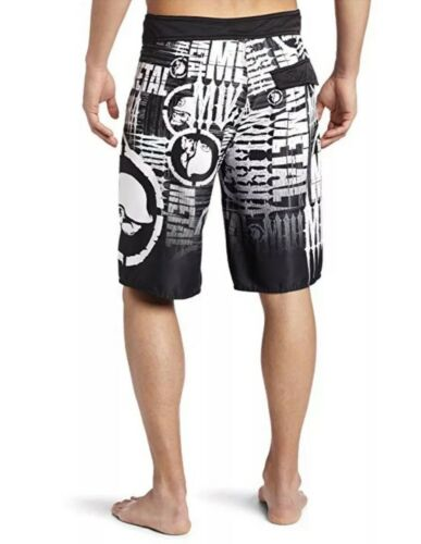 Metal Mulisha Men/'s Unruly Boardie Short Boardshorts Size 30