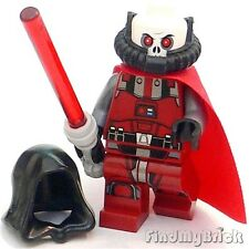 SW276 Lego Star Wars Sith Lord / Sith Warrior Custom Minifigure - NEW swtor Red