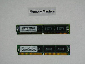 Mem-64f-as53 64 Mo 2 X 32 Mo Système Flash Memory Kit Pour Cisco As5350