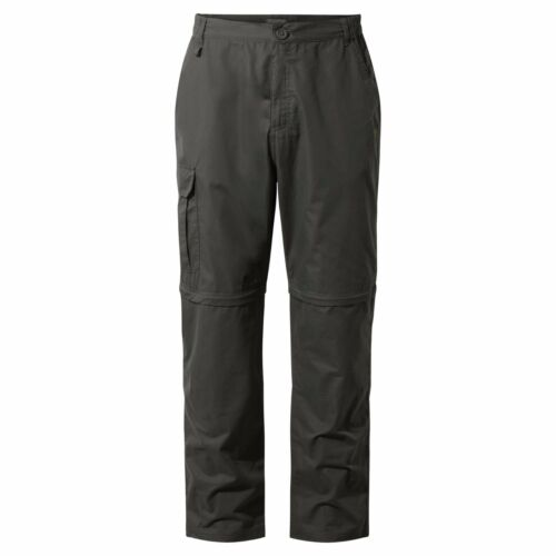 CRAGHOPPERS MENS C65 BASECAMP CONVERTIBLE ZIPOFF TROUSERS SHORTS WALKING OUTDOOR