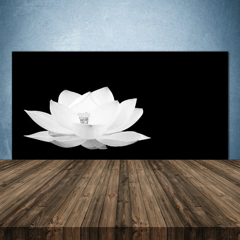 Crédence de cuisine en verre Panneau 140x70 Floral Fleur