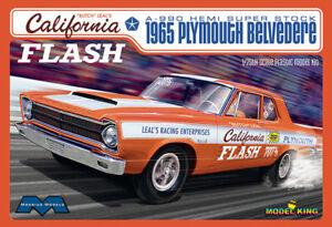 Moebius-1-25-1965-Plymouth-Belvedere-California-Flash-Plastic-Model-Kit-1222