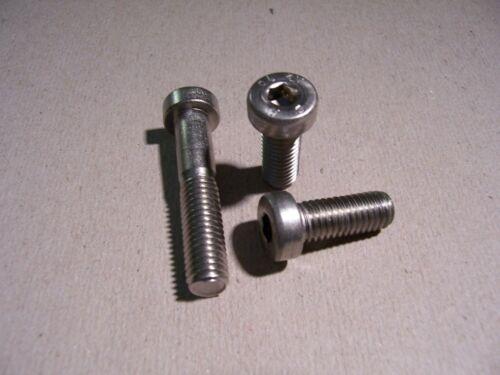 Zylinderkopfschrauben mit Innensechskant DIN 7984 V2A rostfrei 10St M8x12