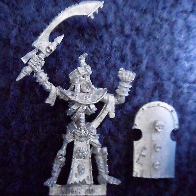 2002 Morti Viventi Tomb Guard Command Champion Games Workshop Warhammer Esercito Kings Hero-mostra Il Titolo Originale