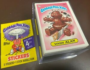 1986 Topps Garbage Pail Kids Original 4th Series 4 OS4 Complete MINT Set GPK