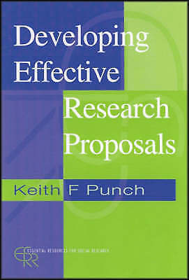 Developing Effective Research Proposals (Essential Resource Books for-ExLibrary