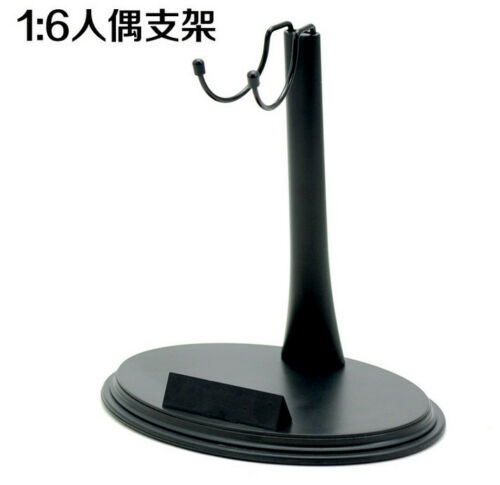 1//6 U-shape Display Stand Black PLastic Supporter F 12/'/' Figure Doll Toy