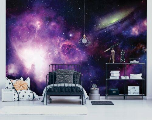 Nappes Papier peint papier peint Papier peint toile Espace Univers Galaxie ciel fw13866ve