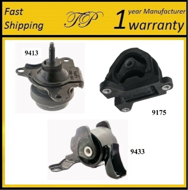 3 PCS MOTOR & TRANS MOUNT FOR 2002-2006 Acura RSX 2.0L