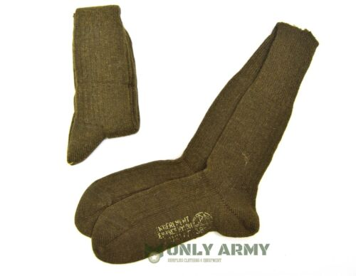 French Army Wool Nylon Blend Socks NEW Boot Sock Thick Warm Winter Thermal