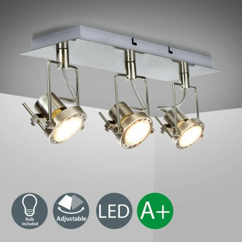 Unique Industrial LED Ceiling Lamp Wall Spotlights Track Light For Kitchen Bar