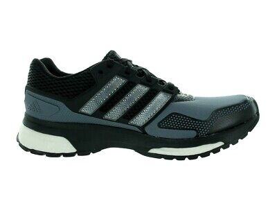 Mens Adidas Response 2 Techfit Black Athletic Sport Running Shoe AF5415 Sz 14-15