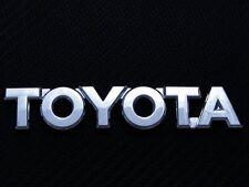 Toyota Chrome Logo Emblem RAV4 corolla yaris camry 4Runner Celica Trunk REAR