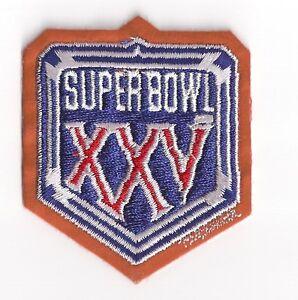 1991-Super-Bowl-XXV-patch-New-York-Giants-vs-Buffalo-Bills-SB-25