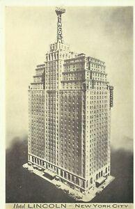 Hotel-Lincoln-44th-Street-Lumitone-1930s-New-York-City-Postcard-Maria-Kramer