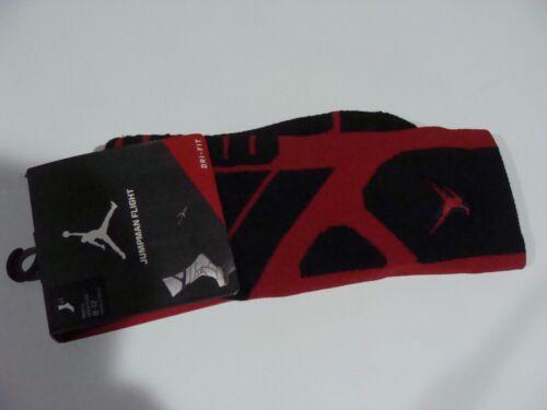 Men/'s Nike Jordan Jumpman Flight Basketball Training Crew Socks 642210 010 Sz L