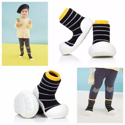 ATTIPAS NATURAL HERB BLUE baby shoes toddler prewalkers non allergic pull-ons