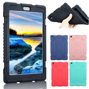 "For 7"" 8"" Amazon Kindle New Fire 7 HD 8 2017,Shockproof Soft Silicone Case Cover"