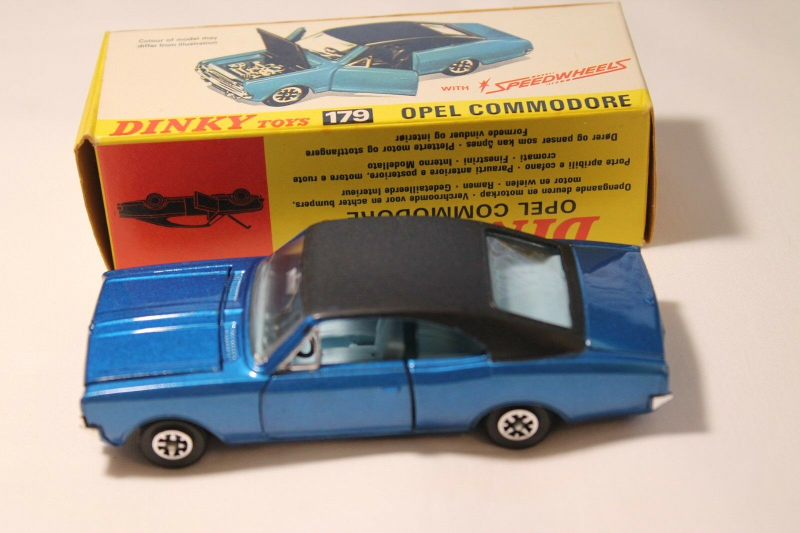 Dinky Toys 179 Opel Commodore
