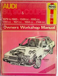Haynes-Audi-80-90-amp-Coupe-1979-to-1985-Owners-Workshop-Manual
