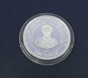 Queen Mother 1994 Barbados 500 Silver Proof Dollar amp Certificate - Coleford, United Kingdom - Queen Mother 1994 Barbados 500 Silver Proof Dollar amp Certificate - Coleford, United Kingdom