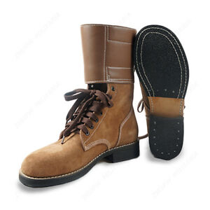 8857b8a5f00 Details about Replica WW2 US Army M1943 ARMY Rough Out Ankle Boots American  Leather Boots